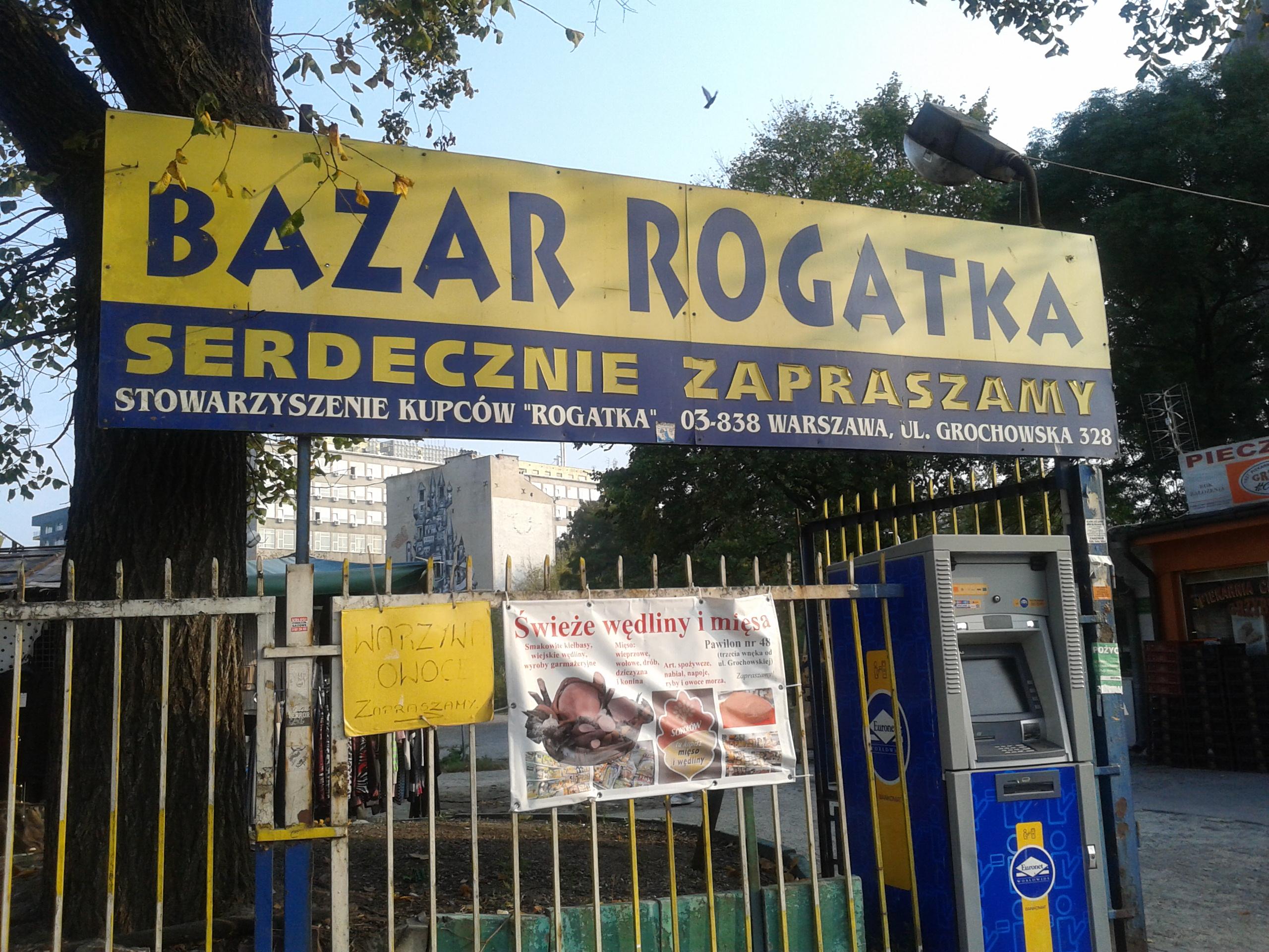 Bazarek Rogatka odchodzi do przeszłości, wkrótce odrodzi się na nowo