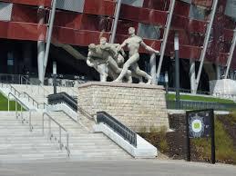 Stadion Narodowy - rzeźba