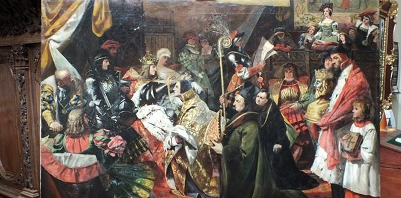 Herb Kamionka - nadanie herbu burgundzkiego kapitule płockiej