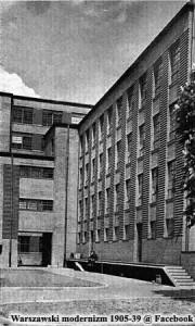PZTiR róg Grochowskiej i Międzynarodowej ok. 1931 - źródło: warszawa1939.pl