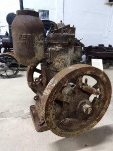 silnik rolniczy Perkuna - muzeum w Konieczkowie