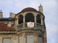 Chodakowska - dekoracyjna wieżyczka